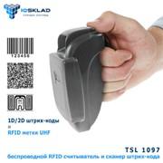 Портативный UHF RFID считыватель и сканер штрих-кода 1097 TSL фото