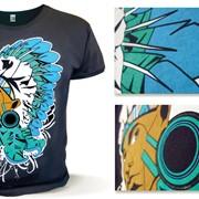 Печать футболок с любыми логотипами и дизайнами фото