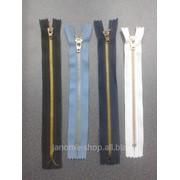 Молния для джинс металл 5 20cм 1уп - 50шт фото