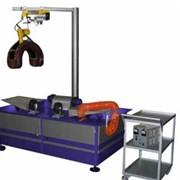 Стенд для дефектоскопии валов якорей тягового электродвигателя и главного генератора СТ.441371.408 фото