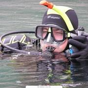 Обучение навыкам подводного плавания фото