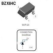 Стабилитрон SMD BZX84C 18V SOT23 фото