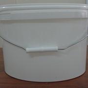 Ведра пластиковые герметичные овальные (возможны цветовые варианты) фото