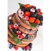 Торт на взбитых сливках Ананасовый фото