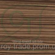Глянцевая пленка ПВХ для МДФ фасадов Зебрано светлый фото