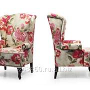 Английское кресло с ушами Bohemia Coral фото