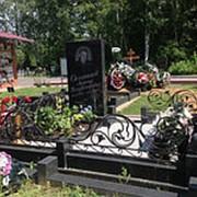 Изготовление памятников на могилу из гранита фото