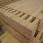 Брус опорный деревянный фото