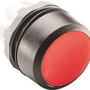 Кнопка MP1-10R красная (только корпус) без подсветки без фиксаци и фото