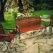 Скамейки кованые 4 фото