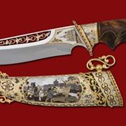 Нож Покорение Казани 374*195*45*6 фото