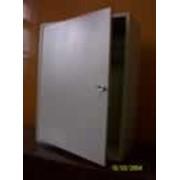 Электрический шкаф распределительный с монтажной плитой (ЩРНМ-3) фото