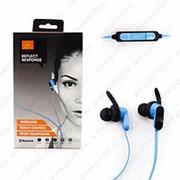 Беспроводные наушники Sport Wireless Blue (Синий) фото