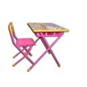 Набор мебели Дэми №3 (розовый фото