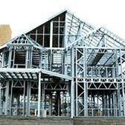 Дома из ЛСТК лёгкие стальные тонкостенные конструкции фото