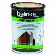 Декоративная краска-лазур Belinka Toplasur 1 л. №72 Санториново-синий Артикул 51272 фото