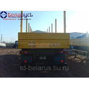 полуприцеп-сортиментовоз бортовой с кониками грузоподъемностью 30 тонн