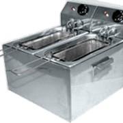 Фритюрница электрическая марка Ф2ФрЭ (5+5 литров) фото