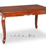 Стол классический деревянный Julia 130 NOCE фото