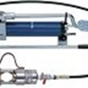 Гидравлический пресс-инструмент с ножным насосом, для опрессовки кабелей KLAUKE HK252 фото