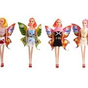 Кукла 11 с крыльями и грущимися ногами в ассорт.в пак.,100606904/EI75740/NN