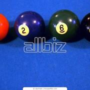 Лузы, шары, другие бильярдные принадлежности фото