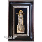 Икона Святая Великомученица Ирина - Именная Икона С Серебром И Позолотой Код товара: ОСФ-И-01 фото