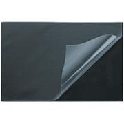 Коврик на стол Attache 38х59см черный с прозрачным листом фото