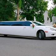 Прокат, аренда лимузинов на свадьбу. фото