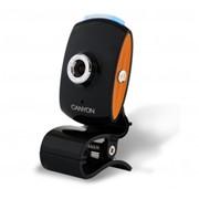 Веб-камера CANYON CNR-WCAM420 (2.0Mpixel CMOS USB) Black/Orange