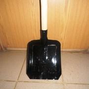 Лопата совковая на черенке фото