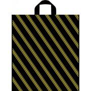 """Пакет полиэтиленовый с петлевой ручкой 40х45см 50мкм """"Полоса"""" первичка (500шт/кор) фото"""