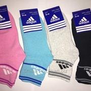 Носки женские спортивние Adidas махра 35-41 фото