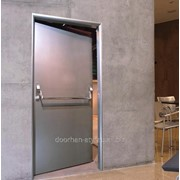 Противопожарная дверь DoorHan одностворчатая 800х2140 мм фото