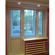 Балконные блоки ПВХ в Сочи фото