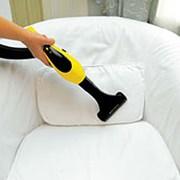Химчистка, чистка паром, аквачистка мягкой мебели, фото