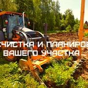 Земляные работы и благоустройство участка. фото