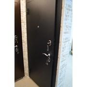 Входные двери Гарда Муар Лиственница Мокко Царга фото