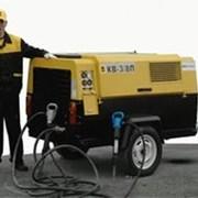 Услуги компрессора дизельного передвижного  фото