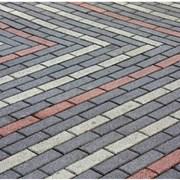Укладка тротуарной плитки на песок с цементом фото