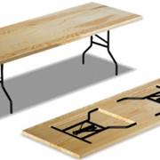 Большие Прямоугольные столы на опоре ног ДЕЛЬТА фото