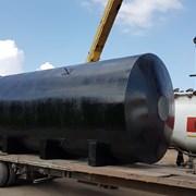 Резервуар горизонтальный стальной подземный фото
