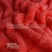 Ткань Махра (велсофт) коралловый 3745