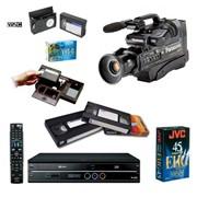 Оцифровка видеокассет, фотоплёнок фото