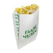 Упаковка для попкорна бумажная фото