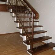 Компактная лестница в доме фото