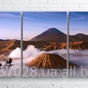 Модульна картина на полотні Вулкан Бромо. Індонезія код КМ100180-104 фото