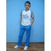 Фуфайка со штампом и брюки спортивные, номер 3888 фото