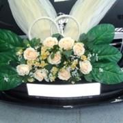 Свадебные украшения автомобилей фото