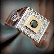 Перстень мужской фото